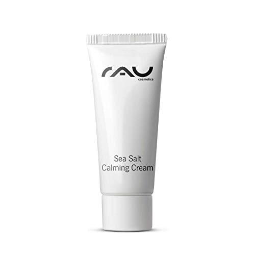 RAU Sea Salt Calming Cream 8 ml - Angenehme Gesichtscreme mit Wertvollem Meersalz und PHA, Creme für Männer und Frauen, Anti Pickel