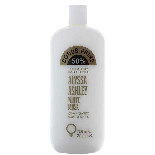 ALYSSA ASHLEY MUSK WHITE HB LOTION 750ML