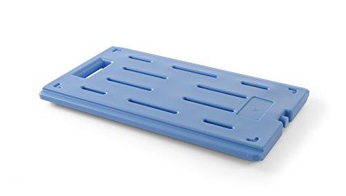 HENDI Kühlelement, für den Einsatz in Thermoboxen, GN1/1, 530x325x(H)30mm, HDPE