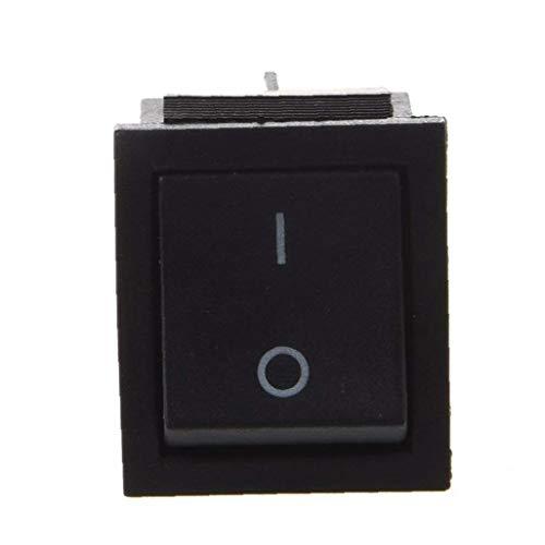 Interruptor De Altas Prestaciones Toggle Amperios De Encendido/Apagado 4 Posición Dpdt Interruptor Eléctrico 250v AC 16a Negro