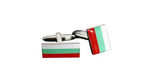 Flaggenfritze® Manschettenknöpfe Fahne / Flagge Bulgarien