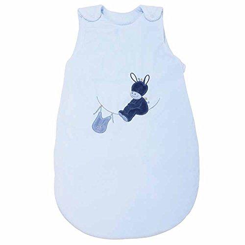 Nattou Ganzjahres-Schlafsack Esel Alex, TOG 1.9, 70 cm, Alex und Bibou, Blau