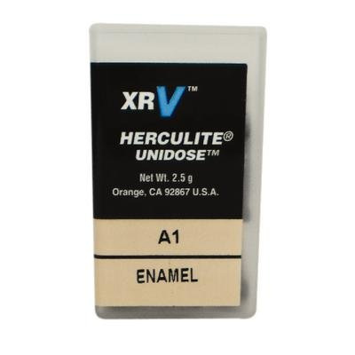 Kerr 29835 Herculite XRV Unidose Microhybrid Composite Compule, Enamel A1, 0.25 g Volume (Pack of 20)