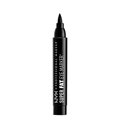 NYX Professional Makeup Super Fat Eye Marker, Eyeliner, 01 Carbon Black