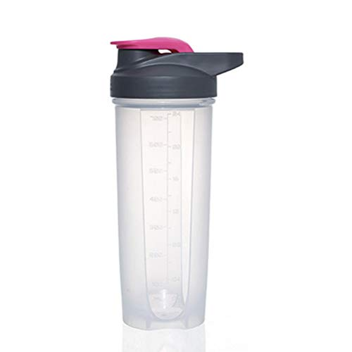 Protein Powder Shaker Durable Cup Fitness Sports Classic Protein Mixer Shaker Bottle with Tick Mark for Protein or Supplements 100% BPA Free