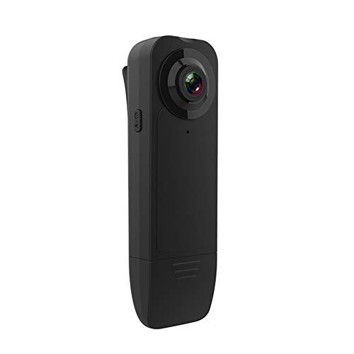 Terug Clip Camera 1080P High-definition bewegingsdetectie Mat Nachtzicht High-definition opname tijdens het opladen tijdens het opnemen Draagbare conferentierecorder Beveiliging Kleine camera