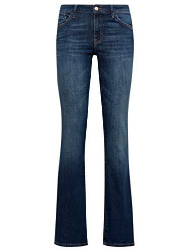 Mavi Damen Jeans Bootcut Bella MID Rise Dark Indigo STR 30 32