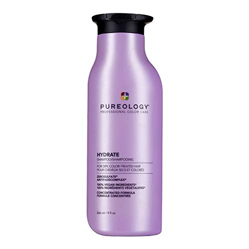 Pureology Hydrate Moisturizing Vegan Shampoo, 9 fl Ounces
