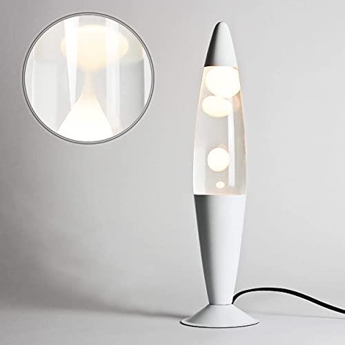 Blanc Lava lampe\