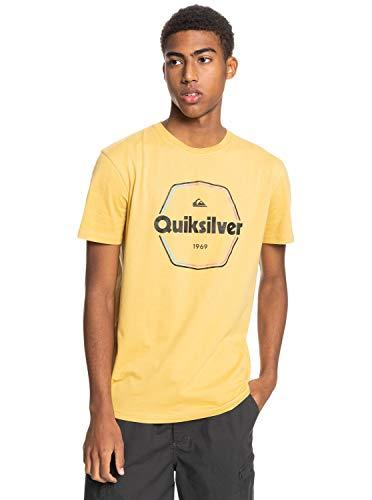 Quiksilver™ Hard Wired Tshirt for Men Tshirt Männer M Gelb