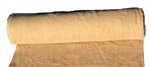 AAYU Brand Premium Burlap fabric Liner Roll | 48 inch x 10 oz 50 Yards | DIY Burlap | Weed Barrier | Eco-Friendly, Natural Jute fabric Roll, 4ft x 150ft long wedding aisle runner
