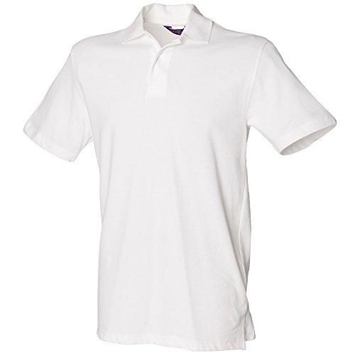 Henbury - Polo - Homme Blanc Blanc x-large