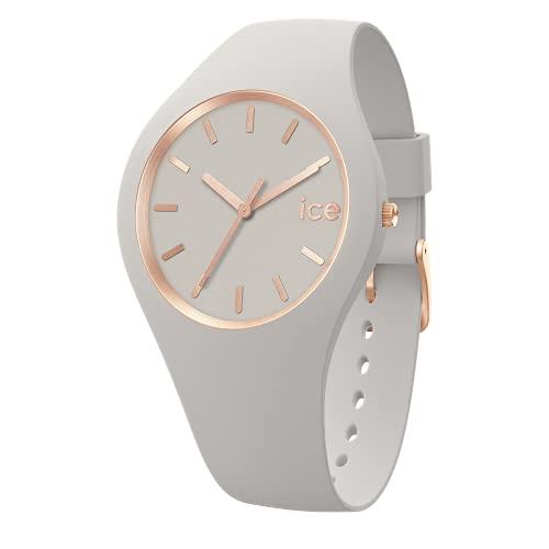Ice-Watch - ICE flower Blush chic - Reloj rosa para Mujer con Correa de silicona - 019211 (Medium)