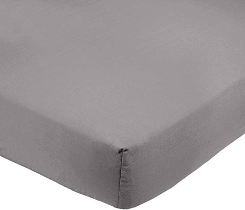Amazon Basics AB Microfiber, Microfaser, Dunkelgrau, 200x30cm