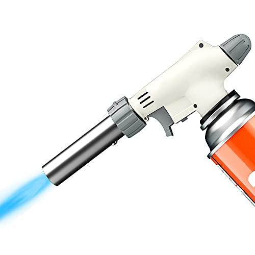 CARBABY トーチバーナー ガスバーナー 電子点火 1300℃ 火力調節可能 キャンプ 炭火起こし 溶接等に適用