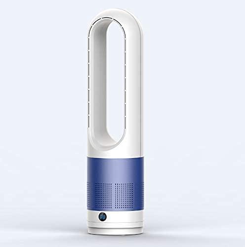 YAYONG Ventilador De Escritorio Sin Cuchillas con Purificador De Aire Mini Portátil USB Refrigeración Aire Acondicionado Purificador Ventilador De Pie con Control Remoto Temporizador Cabeza Móvil