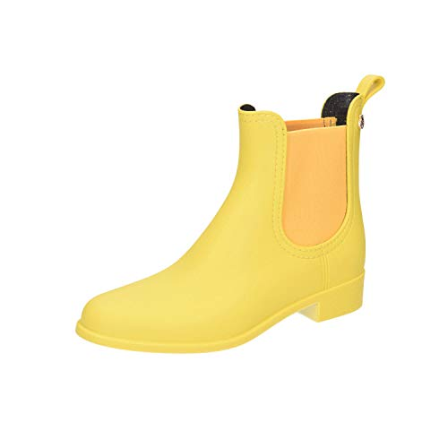 Lemon Jelly Damen Splash Chelsea Boots, Gelb (Splash 06), 39 EU