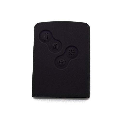 Maidao Smart Car Key Cover For Renault Fluence koleos captur - Silicone Protective Key Fob Cover Black