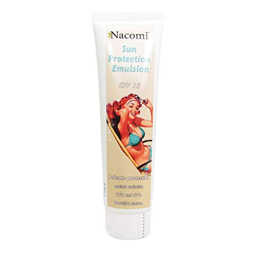 Nacomi Natural Sunscreen Lotion SPF 15 150ml