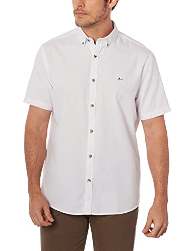 Camisa Mc Jw Button Down (Mo),Aramis,Masculino,Branco;Xxg