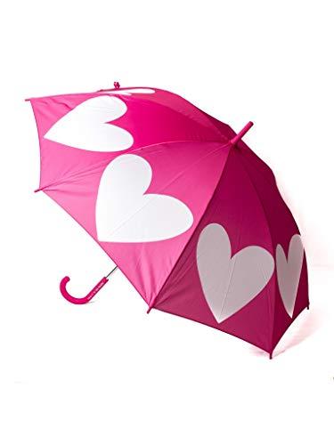 Paraguas de Adulto Agatha Ruiz de la Prada Magenta con Corazones