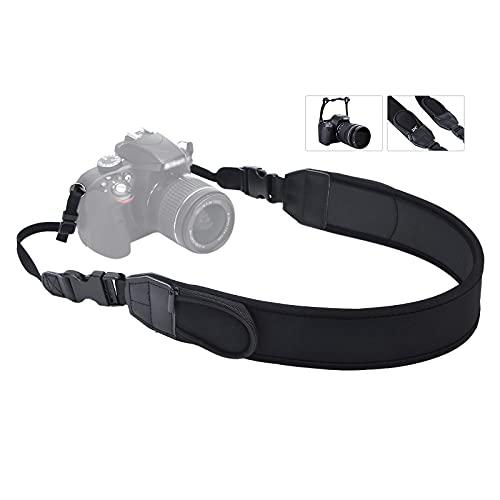 Universal Shoulder Neck Strap for DSLR Camera,Soft Neoprene Neck Belt Strap with Quick-Release,Camera Strap for Canon R5 R6 R RP 5DM4 6DM2 7DM2 90D 80D 70D Nikon D850 D750 D7500 D7000 Sony and More
