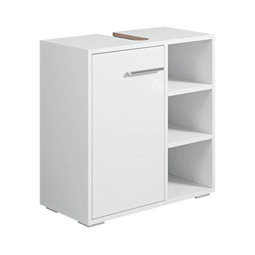 Badezimmer Badmöbel Neptunes (Weiß) - Unterschrank Badmöbelset