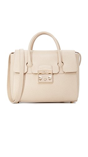 Furla Metropolis S Satchel maple