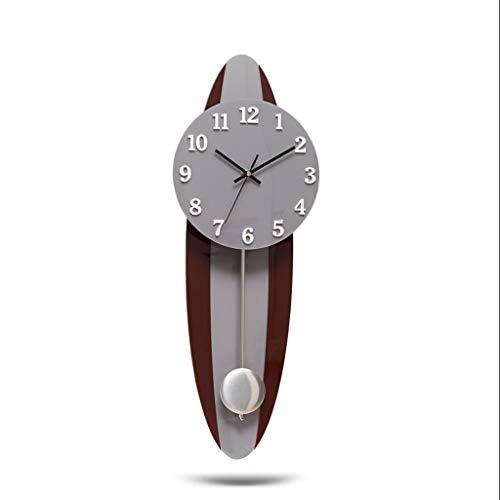 YITIANTIAN Reloj de Pared Moderno Minimalista Sala de Estar Reloj de Pared 3D Digital Europea Atmósfera Creativa Mute Cuarzo Reloj de Pared Decoración del Hogar Reloj Reloj de Pared Digital