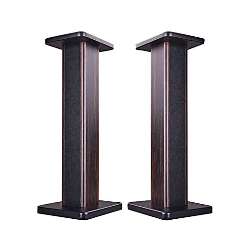 Supporto per altoparlante supporto per altoparlante in legno per la casa un paio di supporto per altoparlante soggiorno libreria audio treppiede supporto surround può essere riempito con sabbia