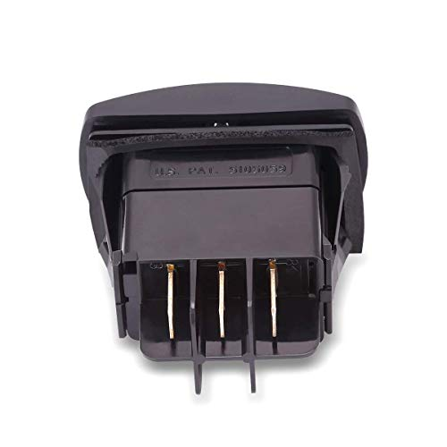 10L0L Golf Cart Forward Reverse Switch for Club Car DS and Precedent 1996-up 48V Electric PowerDrive Plus, FWD REV Rocker Switch Replaces OEM# 101856001 101856002
