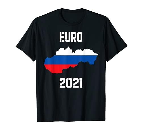 Trikot Slowakei Land Fußball Flagge T-Shirt