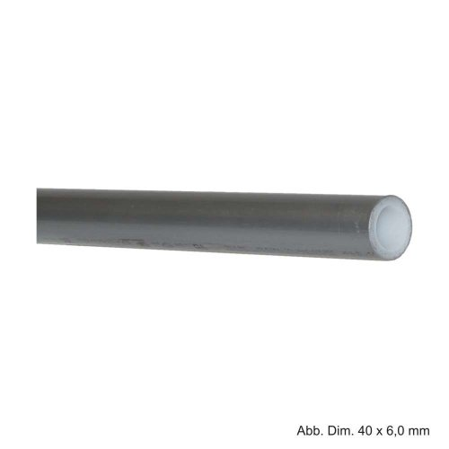 Rehau Rautitan Rohr-Stabil, 2,5 m Stangenware, 16,2 x 2,6 mm