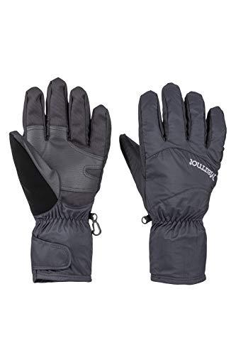 Marmot Precip Eco Undercuff Glove Guantes Ligeros Y Fáciles De Guardar, Agua, Resistentes Al Viento Y Transpirables, Hombre, Black, M