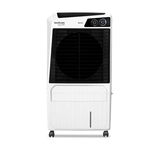 Hindware Snowcrest Fascino 60L Inverter Compatible Desert Air Cooler (White)
