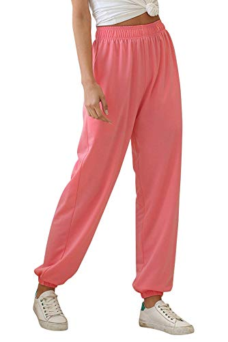 Onsoyours Women Cropped Stretch Bengaline Trousers Ladies Work Office Crop Capri Pants Formal 3/4 Length Elasticated Leggings Pull On Casual Tailored Shorts Treggings C Pink X-Small