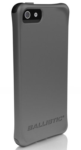Ballistic LS0955-M145 iPhone 5 Ls Case - 1 Pack - Retail Packaging - Gray