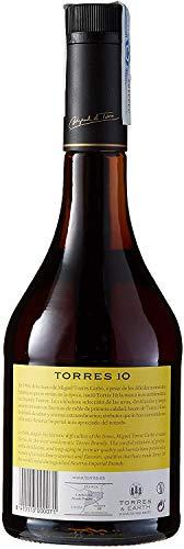 TORRES BRANDY 10 RESERVA IMPERIAL (1x 0,7l) – aus der spanischen Weinbauregion Penedès – im Solera-Verfahren gereift – 70cl mit 38% vol. - 3