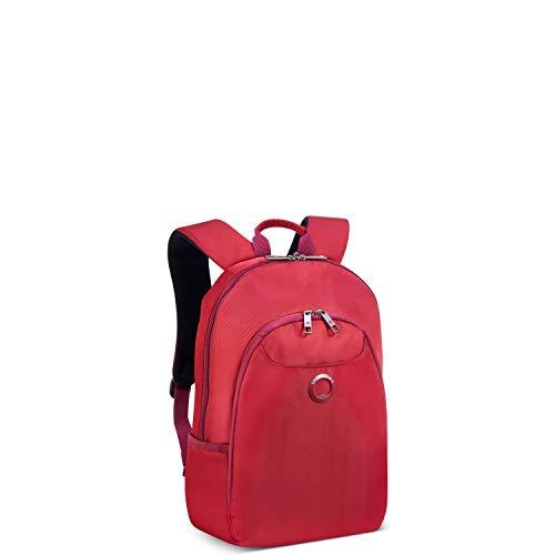 Delsey Paris Espland – Rucksack für Damen 2-CPTS – Schutz PC 13,3 Zoll, rot