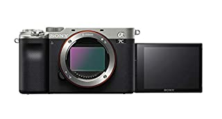 Sony Alpha 7 C | Full-frame Mirrorless Interchangeable Lens Camera (Compact and Lightweight, Real-time Autofocus System, 24.2 Megapixels, 5-Axis Stabilisation System, Large Battery Capacity) - Silver (B08J2FYYYT) | Amazon price tracker / tracking, Amazon price history charts, Amazon price watches, Amazon price drop alerts