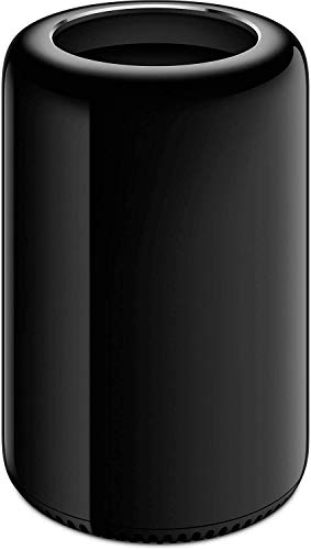 Apple Mac Pro MD878LLA, Intel Xeon E5 Six Core 3.5GHz, 32GB RAM, 1TB SSD - Black (Renewed)