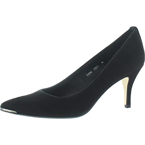 Donald J. Pliner Womens Tion Suede Dress Heels Black 10 Narrow (AA,N)