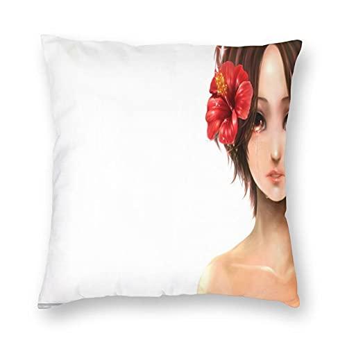 Standard weiche Feste Kissenbezüge, rechteckige Kissenbezüge mit verstecktem Reißverschluss, dekorative Kissenbezüge für Bett, Couch, Schlafzimmer, tägliche Dekorationen,