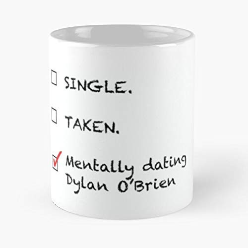 Lplpol Dating Dylan O'Brien Range - Taza de café y té, diseño...