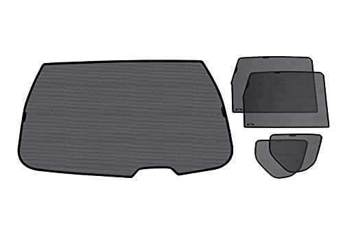 Laitovo Auto-Sonnenschutz für alle hinteren Scheiben für Mercedes-Benz GL-klasse 2 Generation Crossover 5-Doors (2012 - 2015) X166