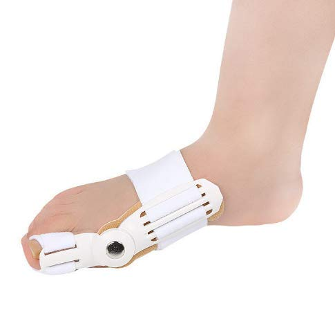 Bunion Relief and Ball of Foot Cushion Kit, Toe Separators, Metatarsal Pad for Women and Men (White)