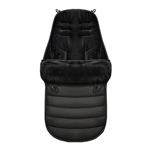 Xiangei - Saco de dormir para cochecito de bebé, abrigado para invierno, cálido, a prueba de viento, saco de dormir para silla de coche, cochecito a prueba de viento