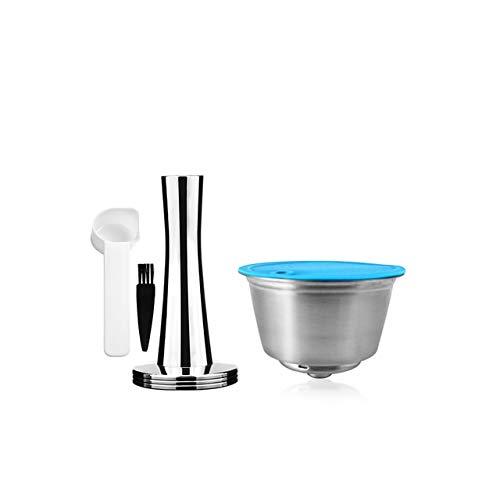 Landia wielokrotnego użytku kapsułka z kawą Crema do filtra do kawy Dolce Gusto wkład ze stali nierdzewnej do ekspresu do kawy LUMIO Sabotaż
