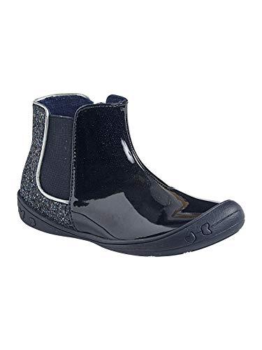 Vertbaudet Stiefel mit Pailletten für Mädchen, Blau - marine - Größe: 38 EU