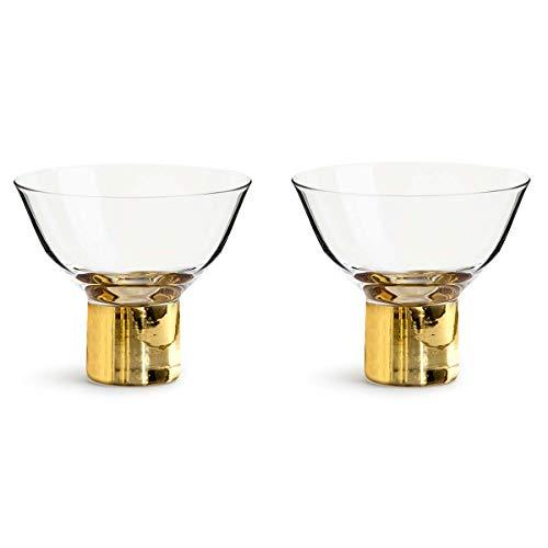 Sagaform Cocktail-/Dessertglas, Glas, Nylon/A, 8 cm